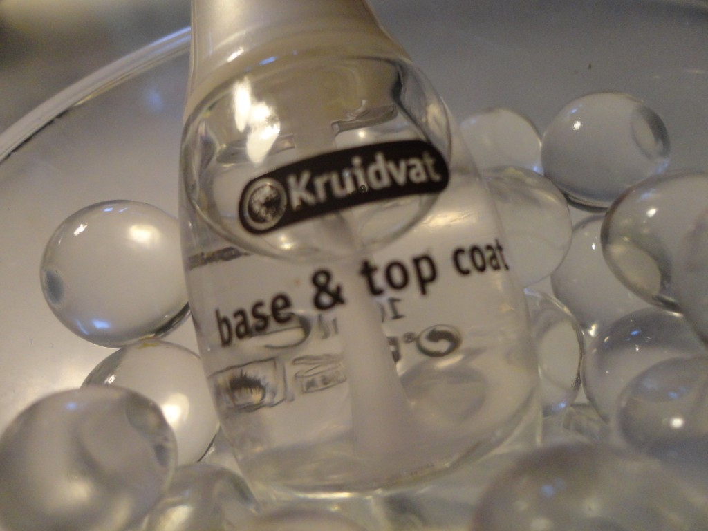 Kruidvat base & top coat