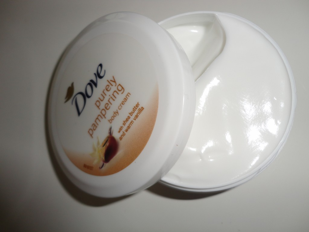 Dove Purely Pampering body creme