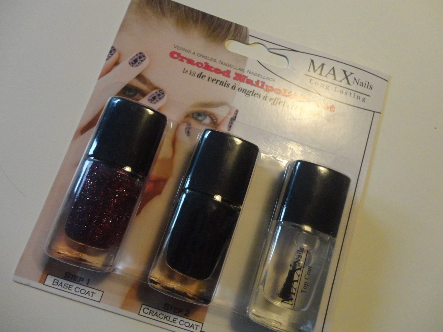 Review: Max Cracked Nailpolish set (Action)