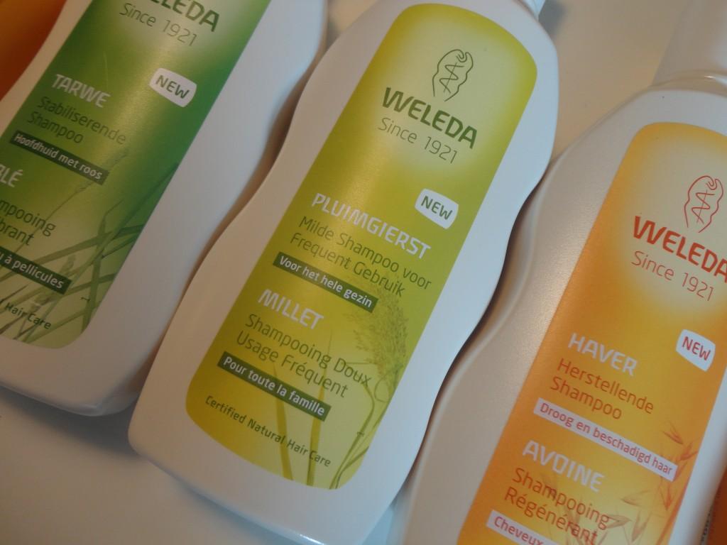 Weleda nieuwe shampoo