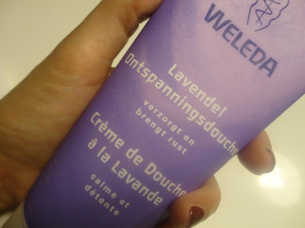 Weleda lavendel douche