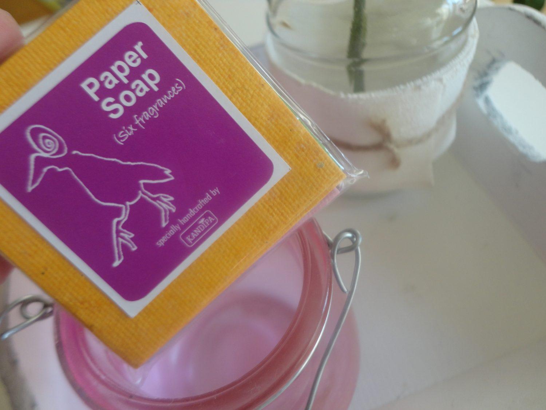 Review: Kandipa Paper Soap + winactie!! (gesloten)