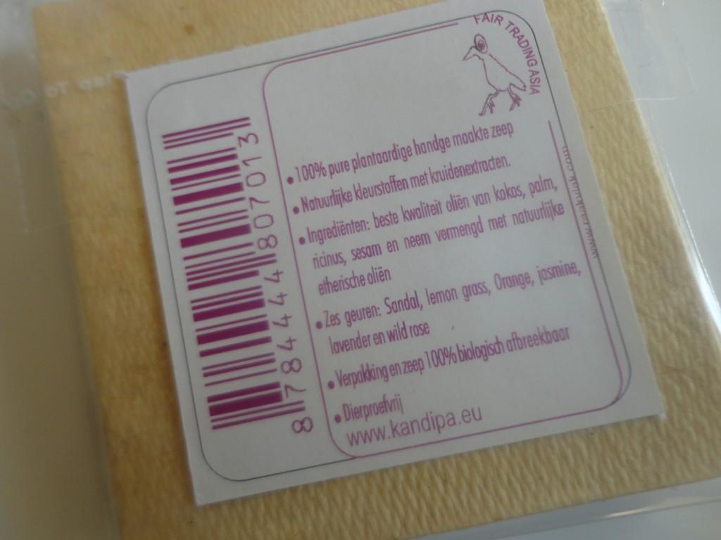 Kandipa paper soap