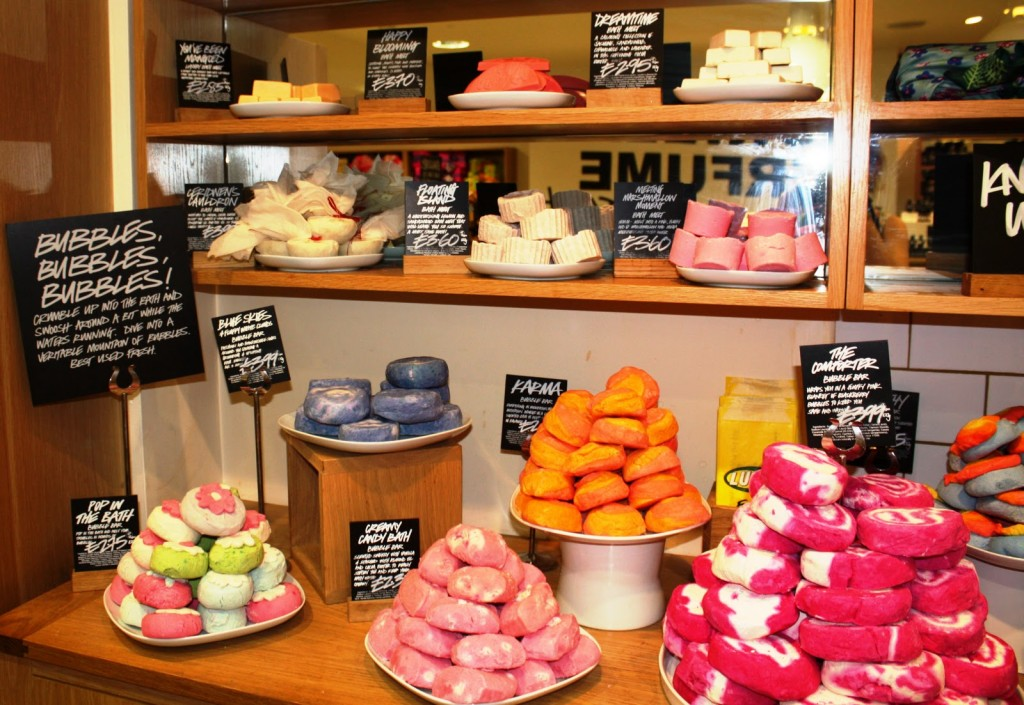 Lots of lovely Lush products!