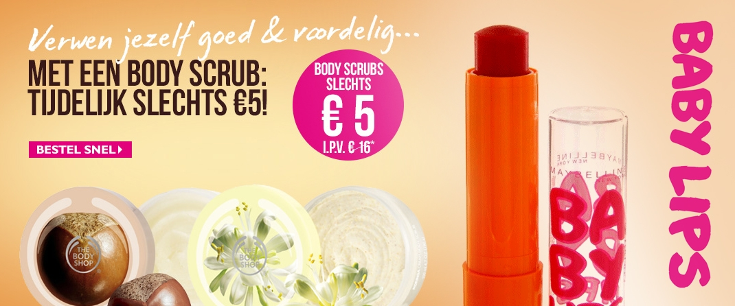 Tip! The Body Shop & Maybelline Baby Lips