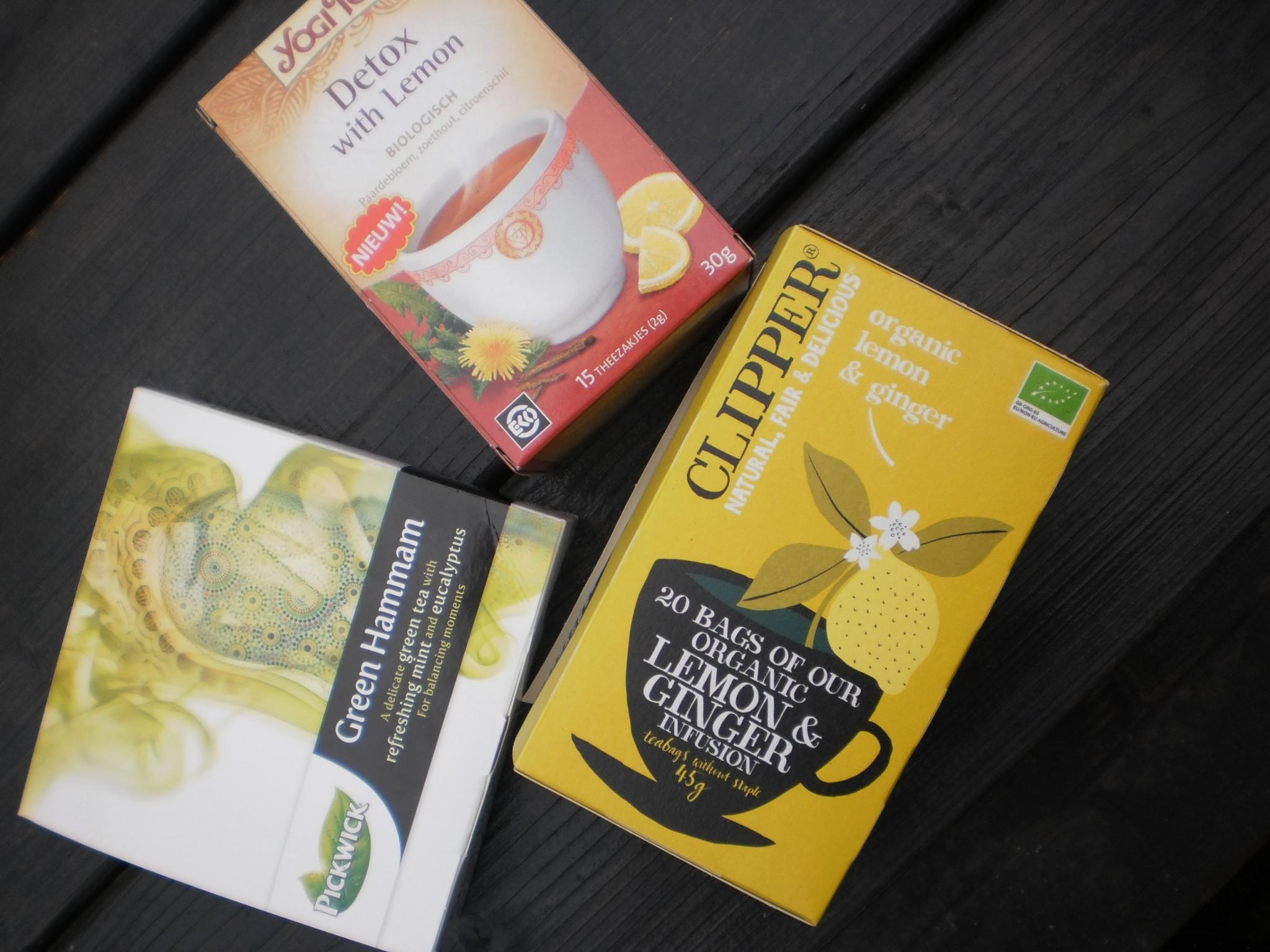 Mijn favoriete thee! (en afraders)