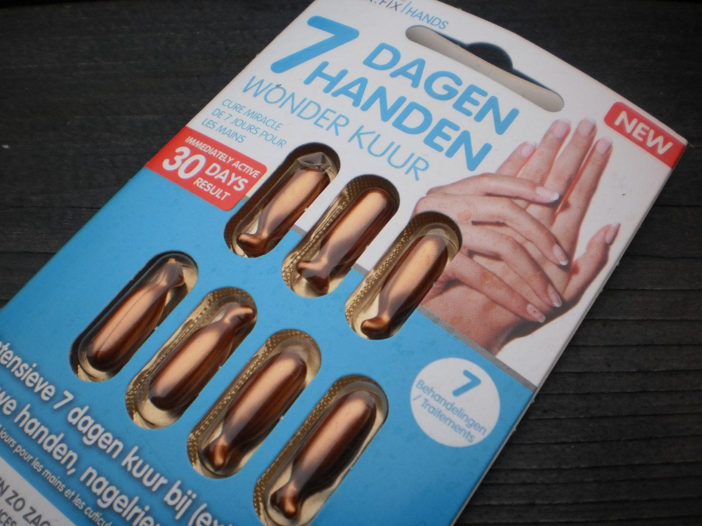 Review: Dr Fix Hands 7 Dagen Handen Wonderkuur (+ winactie!)(gesloten)