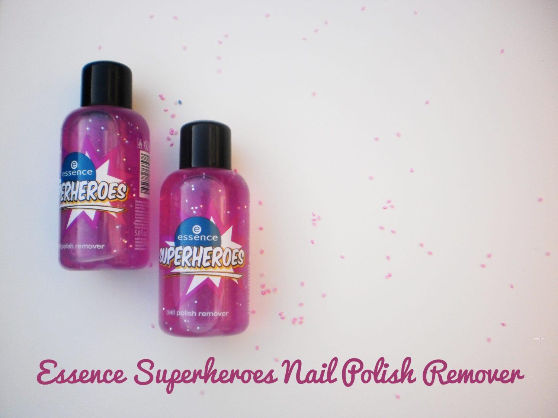 Essence Superheroes Nail Polish Remover