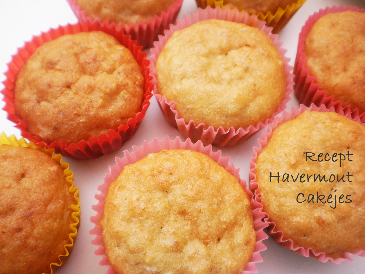 Recept: Havermout cakejes!