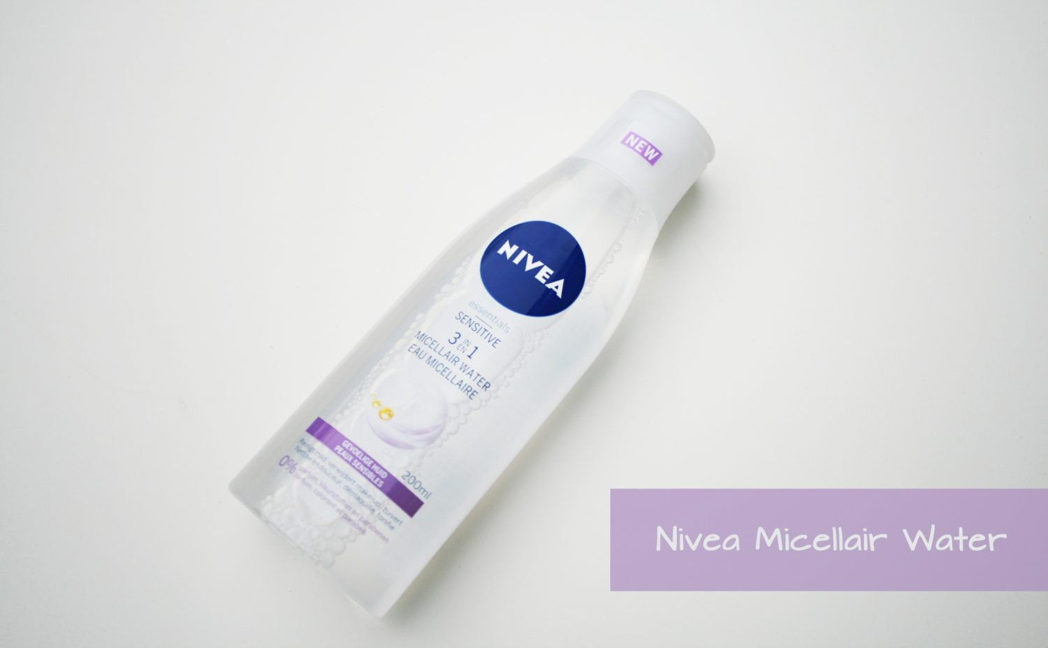Review: Nivea Sensitive 3 in 1 Micellair Water