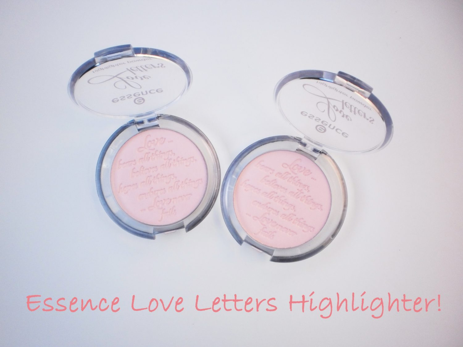 Review: Essence Love Letters Highlighter