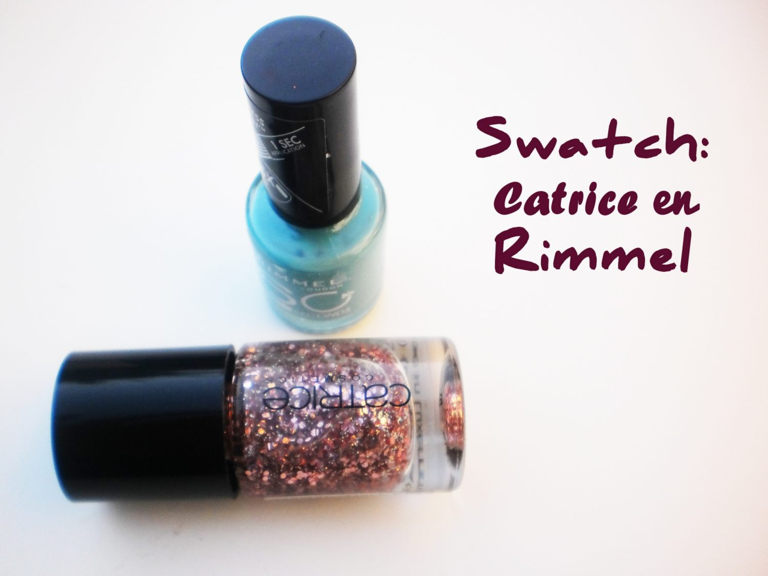 Swatch: Rimmel Bright Back At You & Catrice Kitch Me If You Can