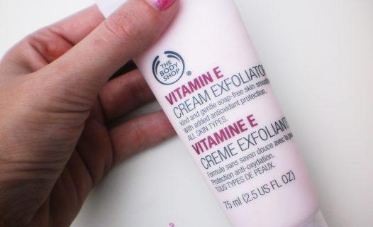The Body Shop Vitamine E Cream Exfoliator