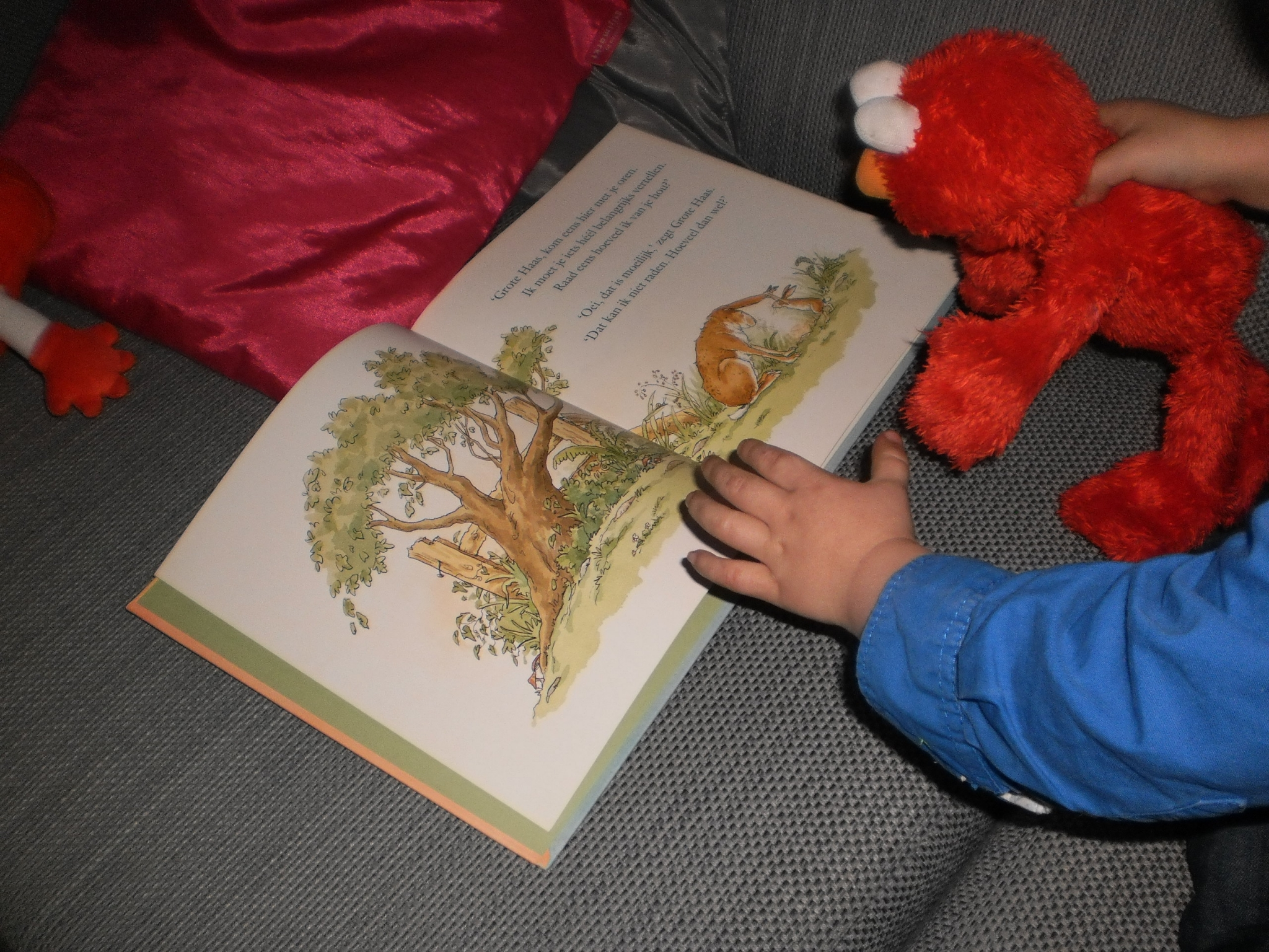Mamapraat: Lezen met je kindje