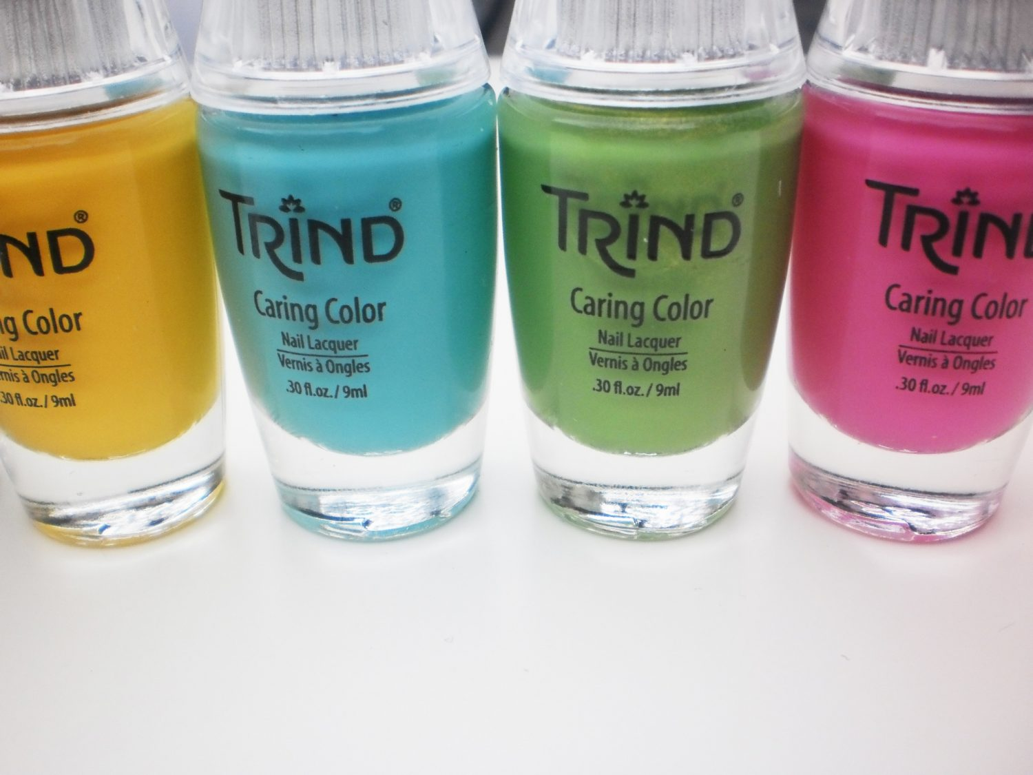 Swatches: Trind Beauty & The Beach