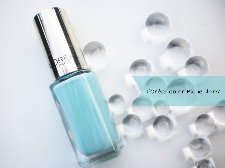 L'Oréal de Color Riche Le Vernis Nagellak #602