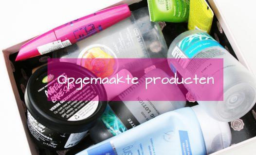 opgemaakte producten