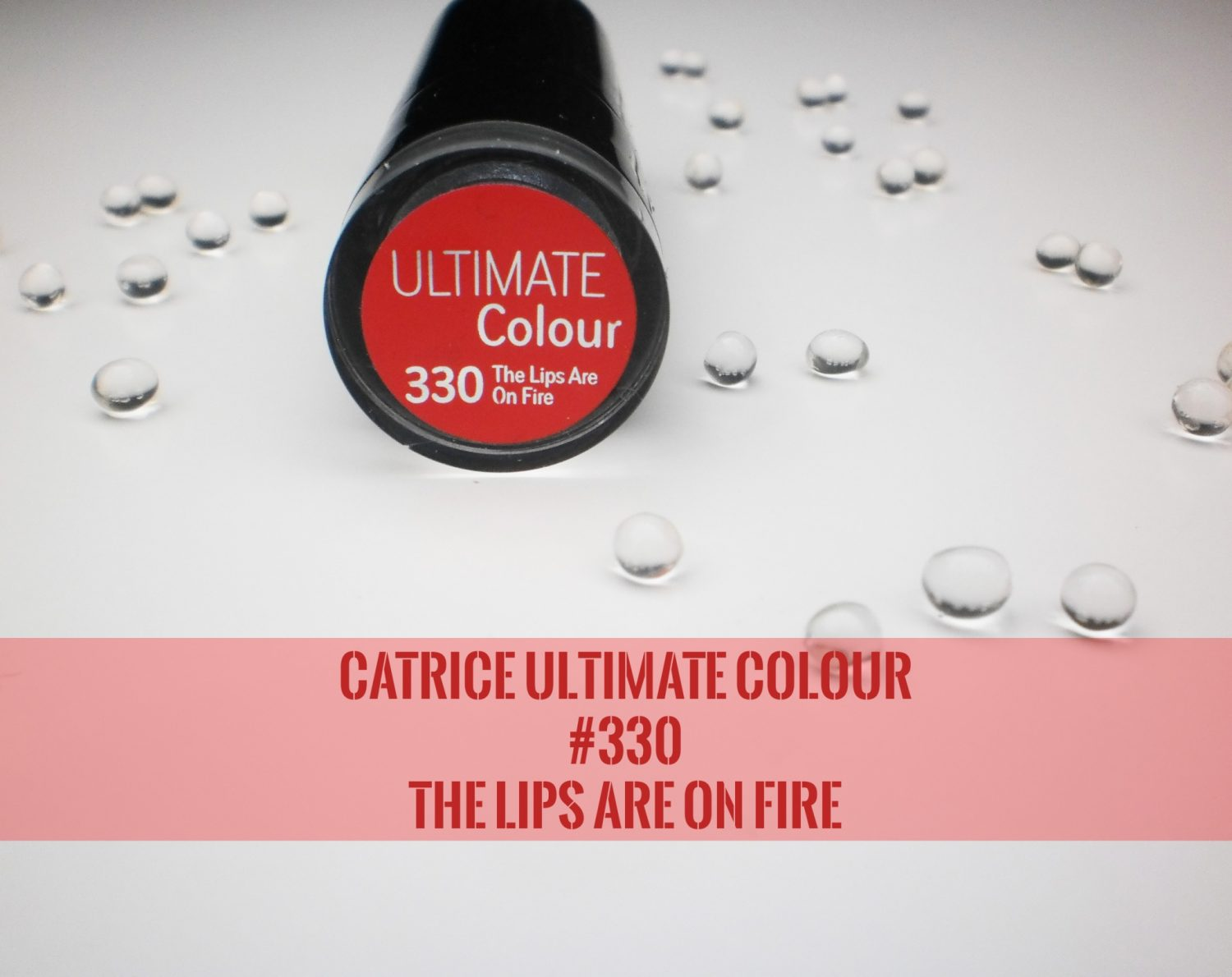 Review: Catrice Ultimate Colour # 330 The Lips Are On Fire