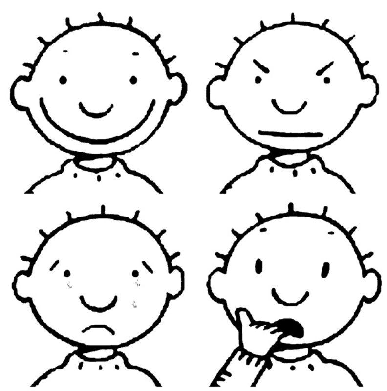 Kleurplaat Emoties Idee 235 N Over Kleurpagina S Voor Kinderen
