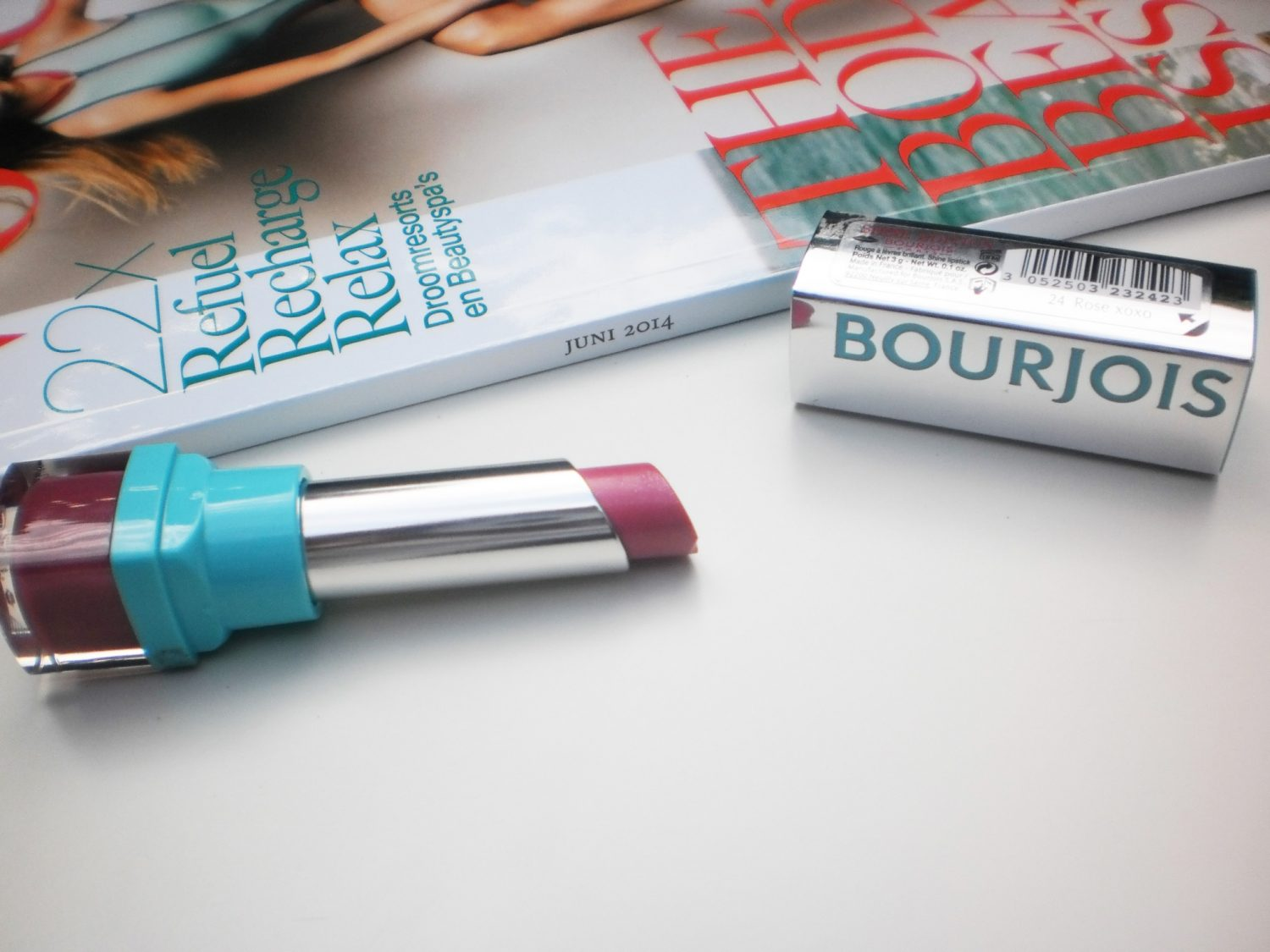 Review: Bourjois Shine Edition Lipstick #24 Rose xoxo