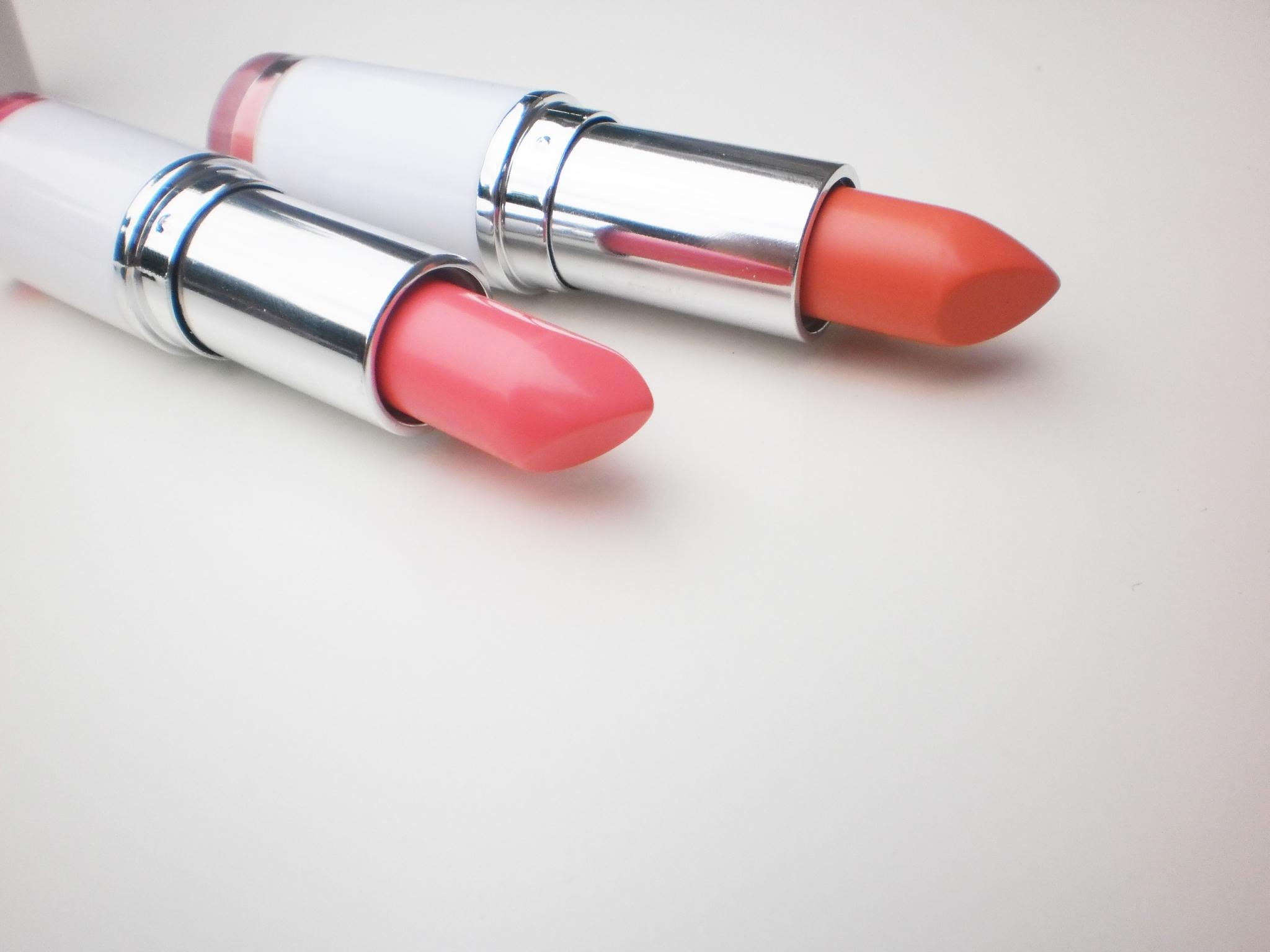 Make Up Academy Matte Lipsticks Pouty Pink & Peachy Keen