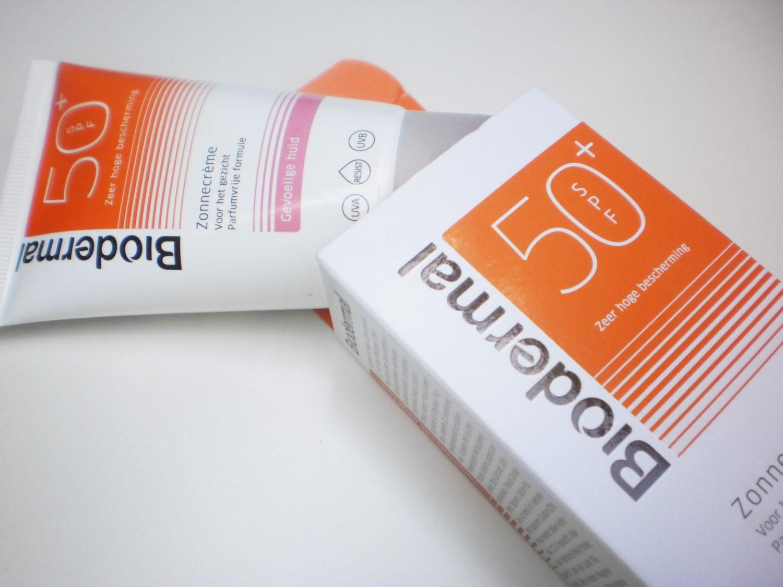Review: Biodermal zonnecrème voor het gezicht SPF 50+