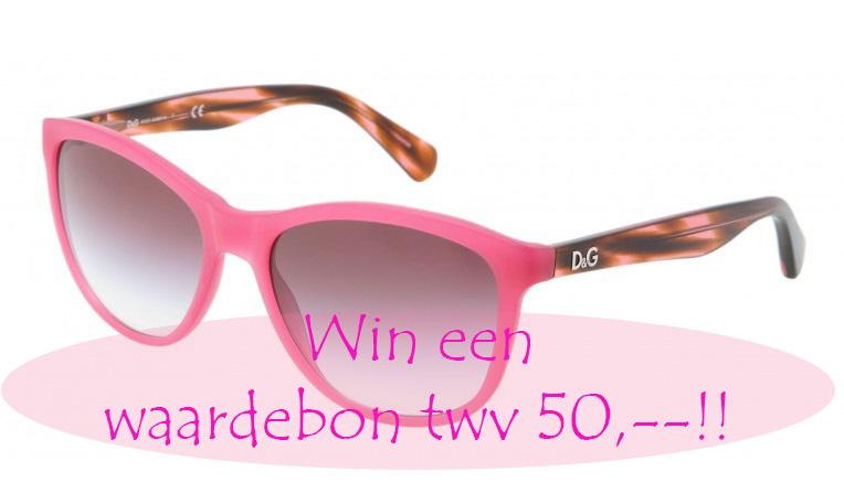 Zonnebrillenparade en win een waardebon twv € 50,–! (gesloten)