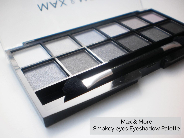 Max & More Smokey Eyes Eye Shadow Palette