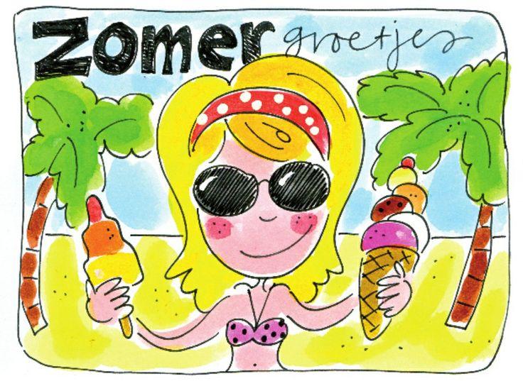 Kletsartikel.. (vakantie, komende winacties en zon!)