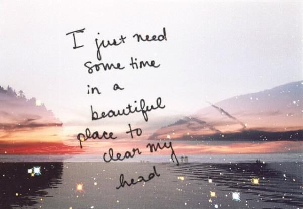 Neem je tijd en relax..