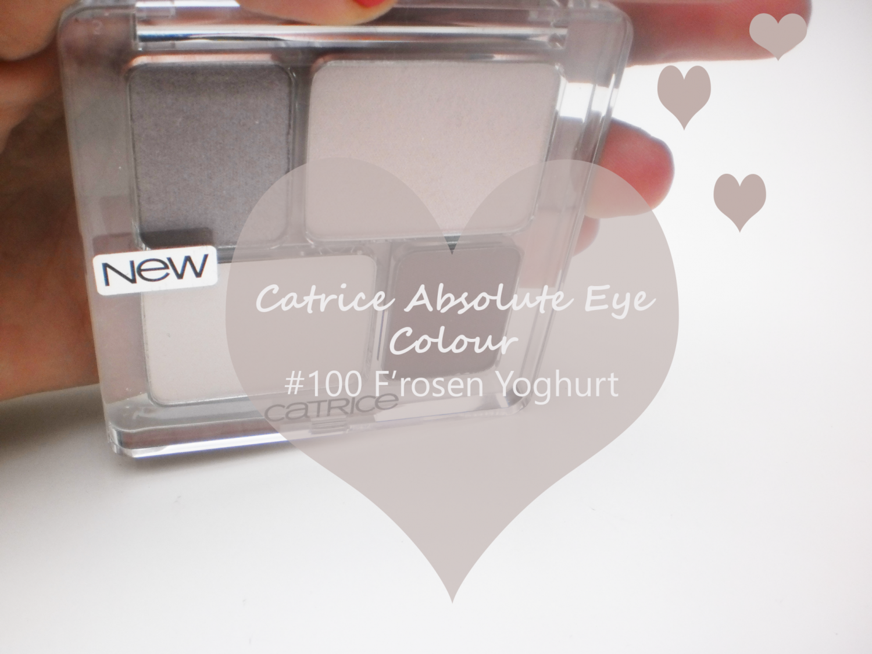 Catrice Absolute Eye Colour # 100 F'rosen Yoghurt