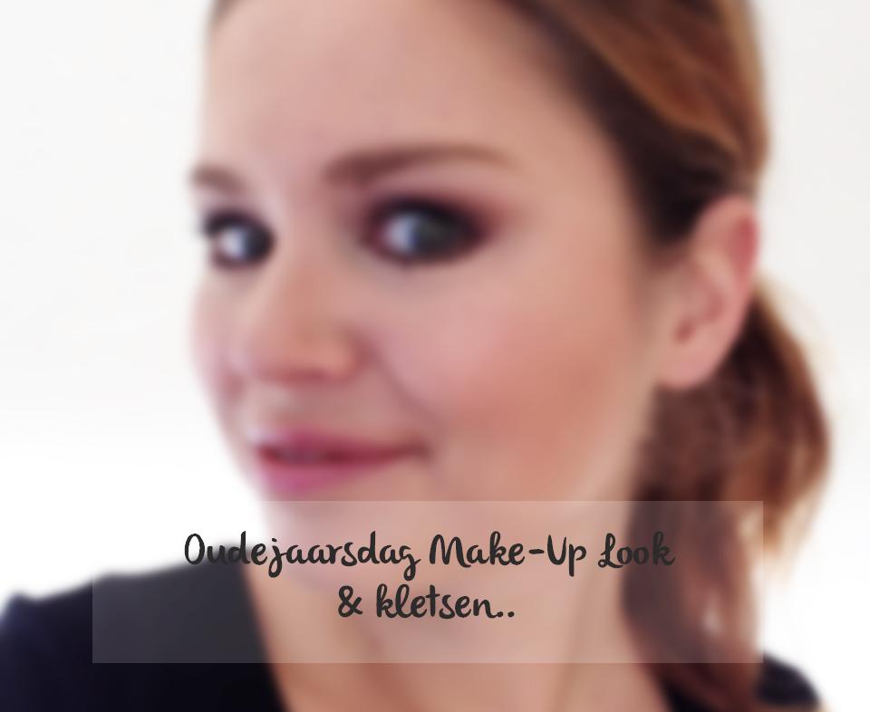 Oudejaarsdag Make-Up Look & kletsen