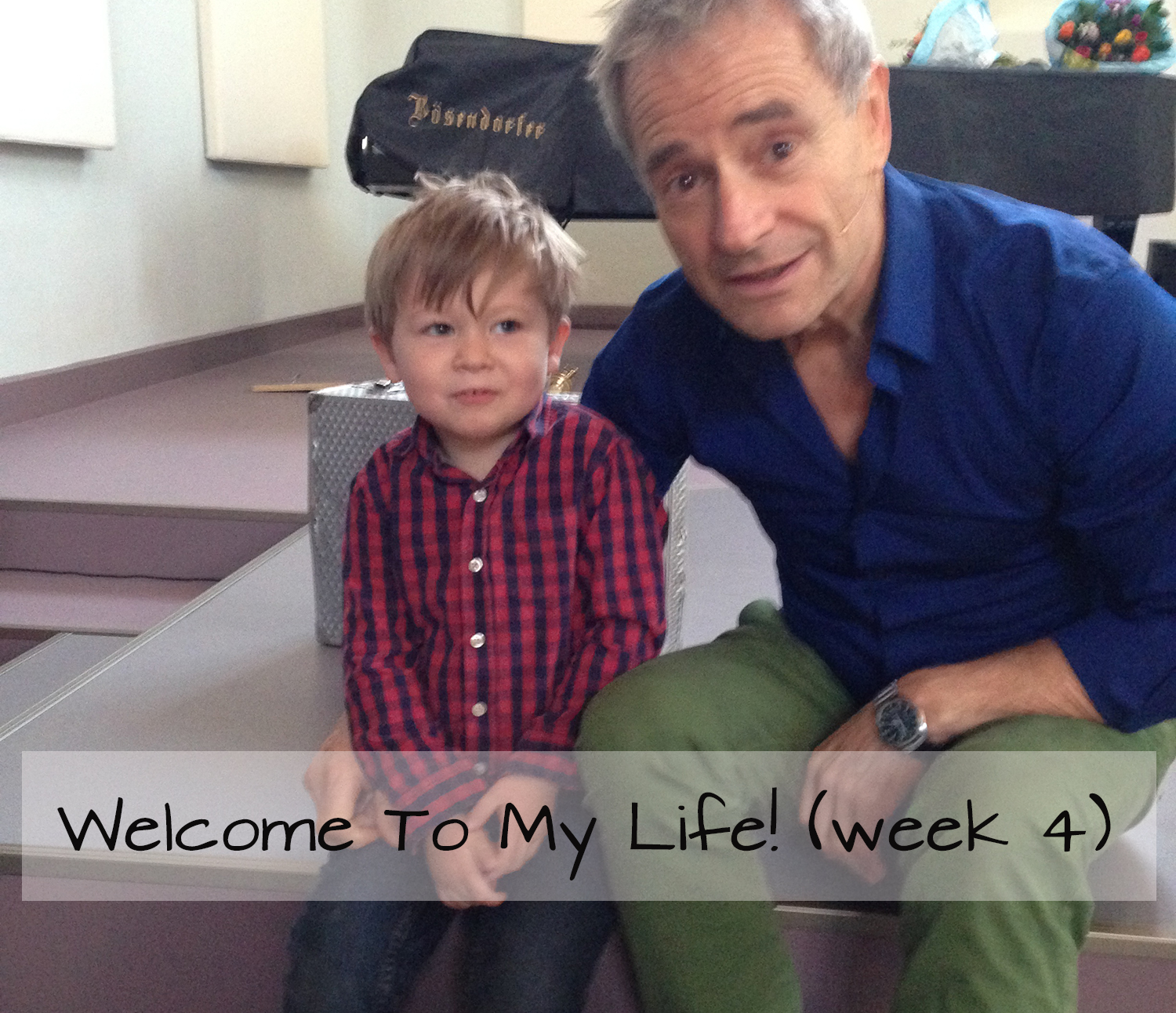 Persoonlijk: Welcome To My Life! (week 4)