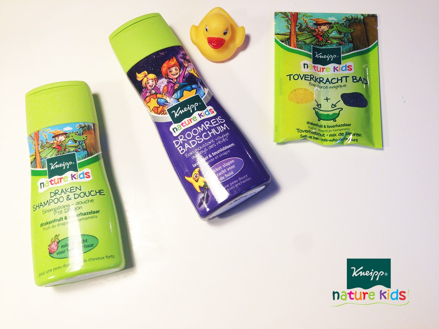 Review Kneipp Nature Kids Shampoo, Badschuim en & Toverkracht bad
