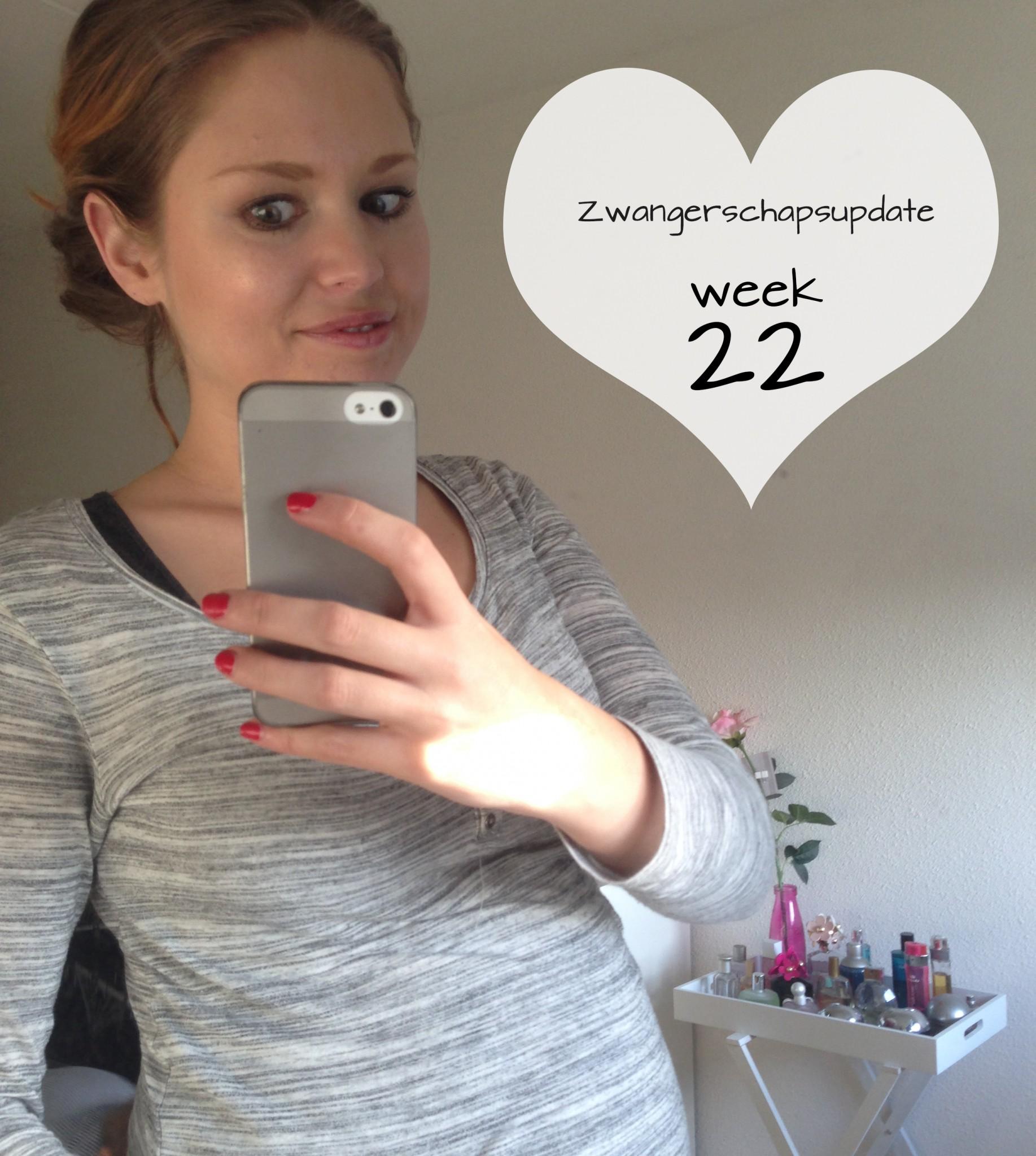 Persoonlijk: zwangerschapsupdate week 22