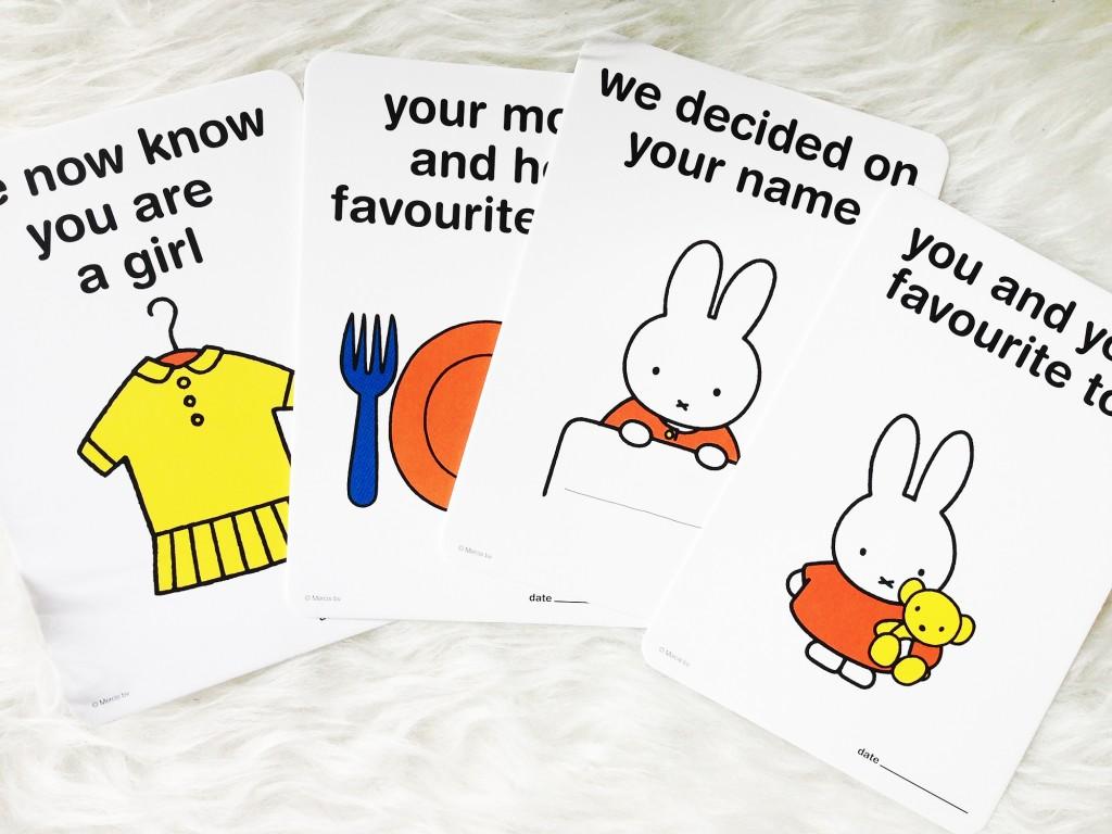 Nijntje Milestone Cards