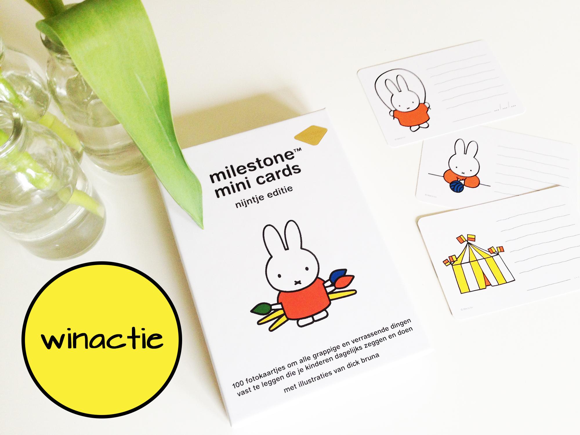 Winactie: Milestone Mini Cards Nijntje Editie