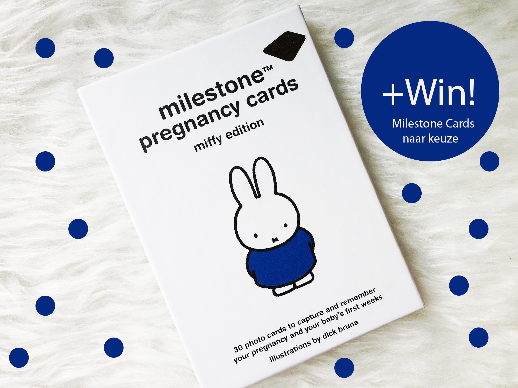 Milestone Cards & Winactie!
