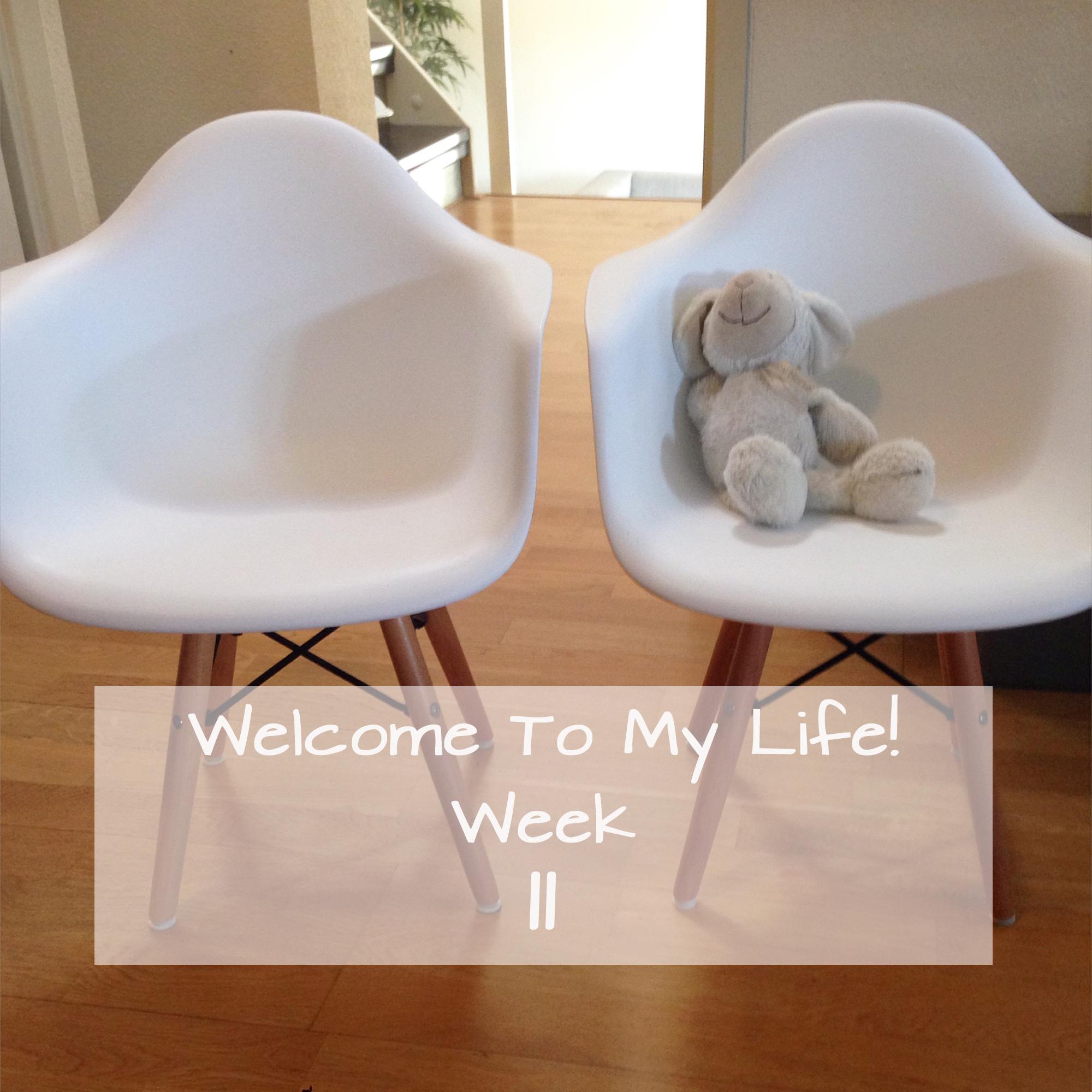 Persoonlijk: Welcome To My Life! (week 11) Kinderkamer, Ikea & Eames