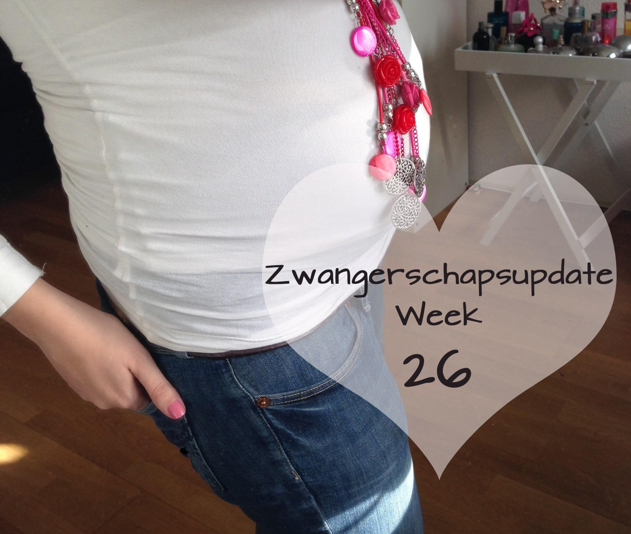 Zwangerschapsupdate week 26
