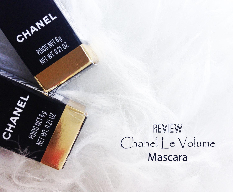 Review: Chanel Le Volume Mascara
