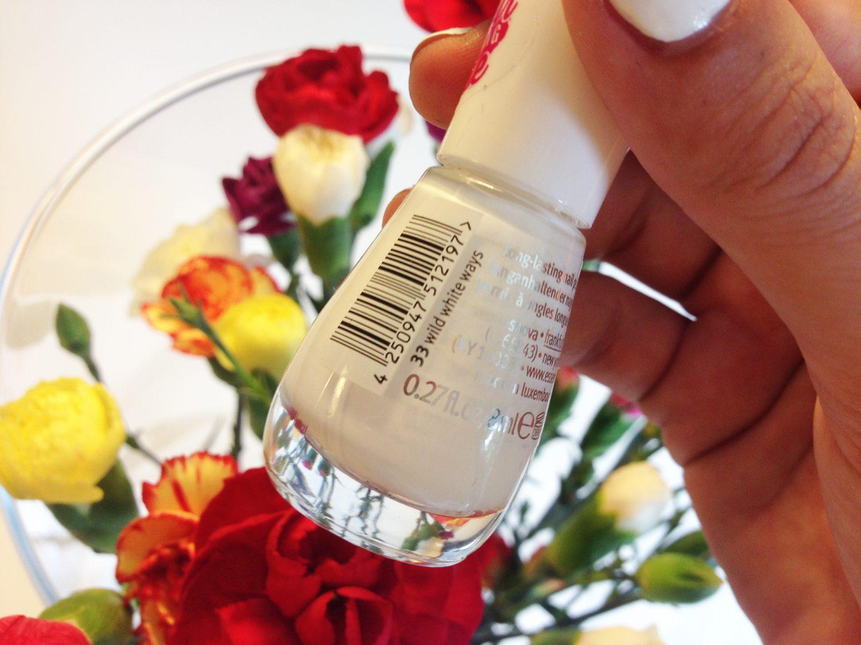 Essence Gel Nail Polish #33 Wild White Ways
