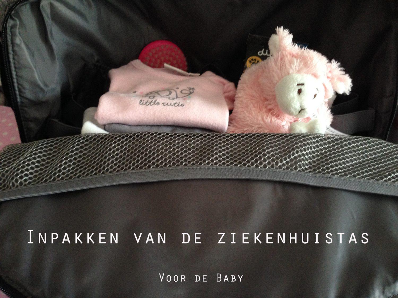 Inpakken van de ziekenhuistas (baby)