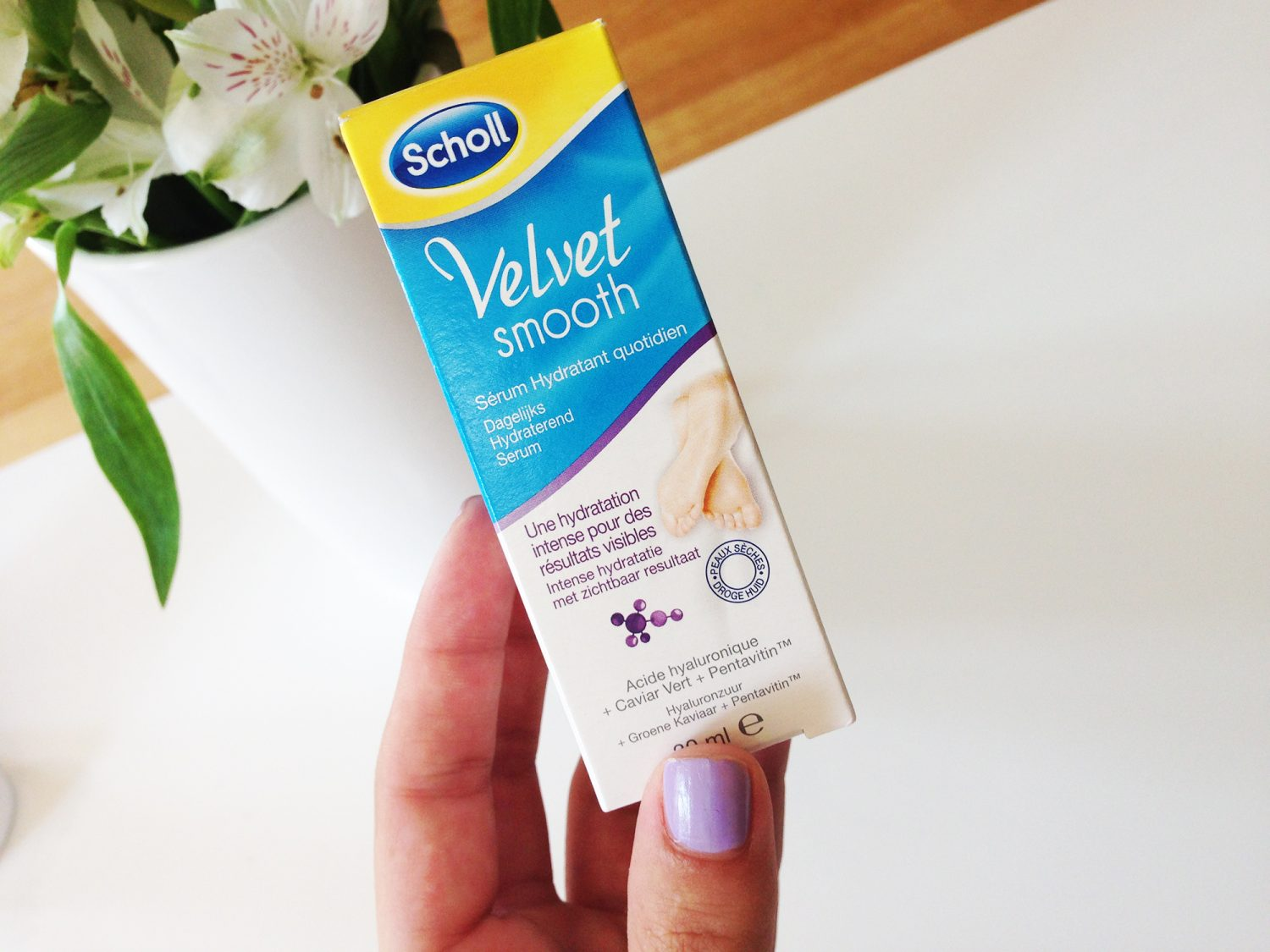 Review: Scholl Velvet Smooth Voetenserum