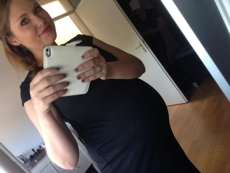Dat is schrikken he, nu je zwanger bent