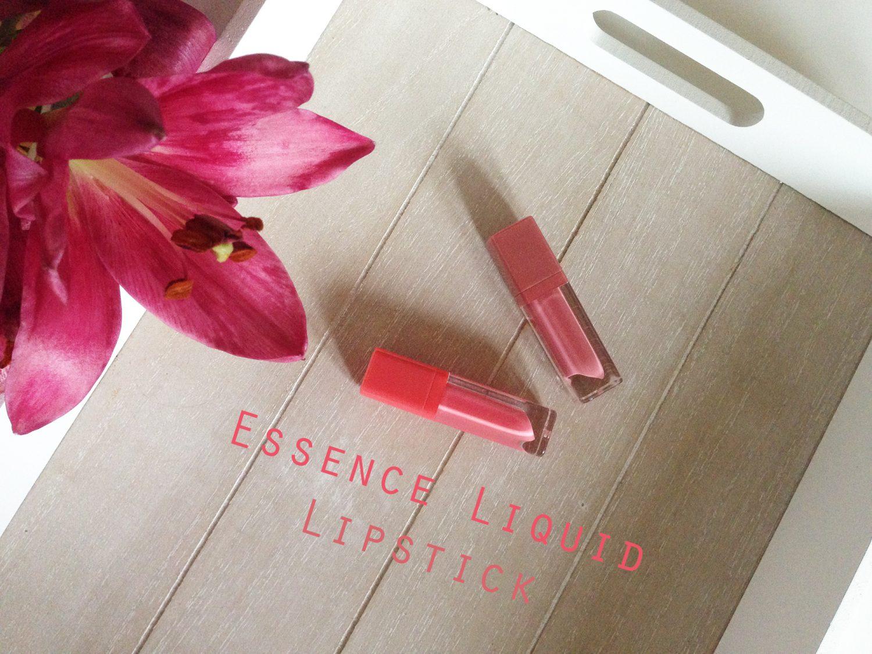 Nieuw! Essence Liquid Lipsticks