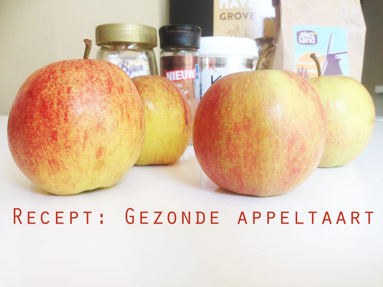 Recept: Gezonde Appeltaart
