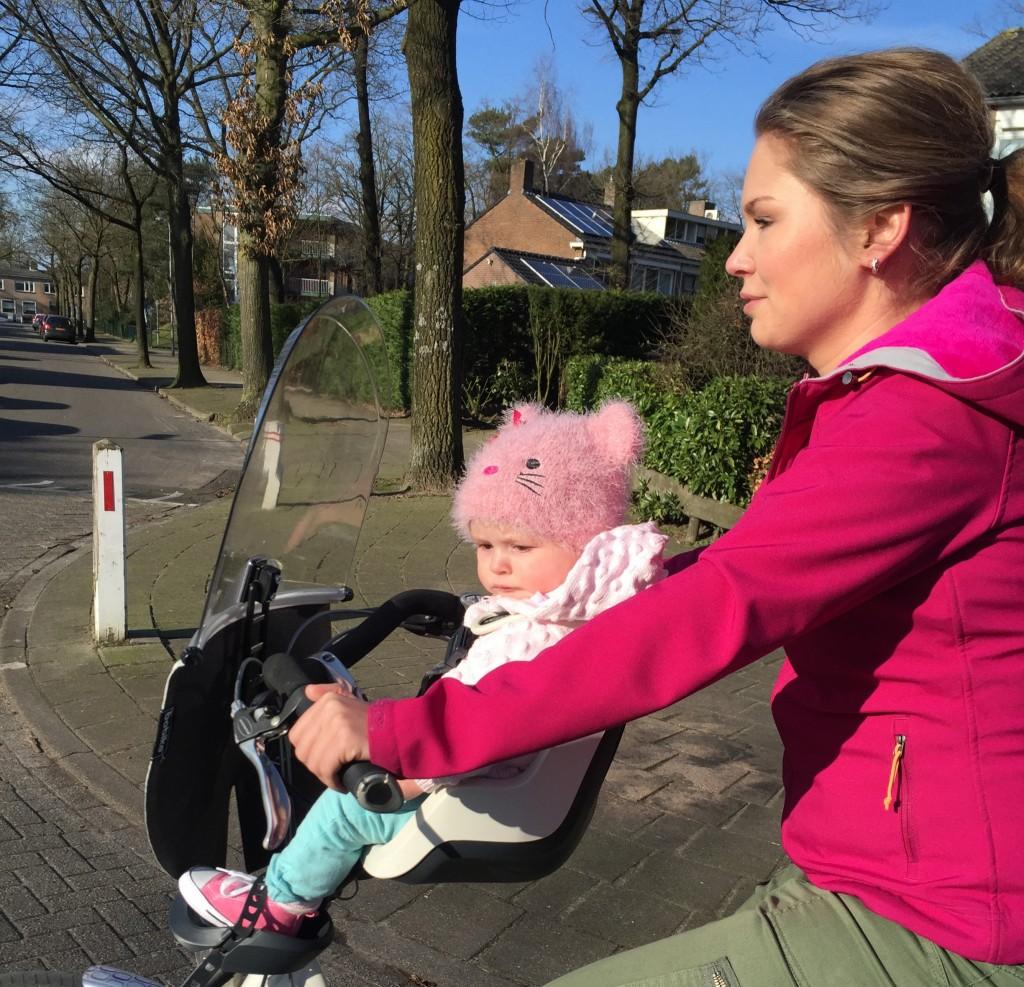 Voor het eerst fietsen