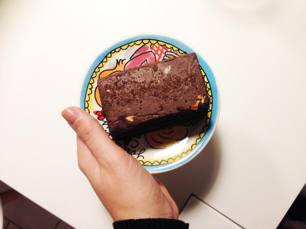 spelt brownie