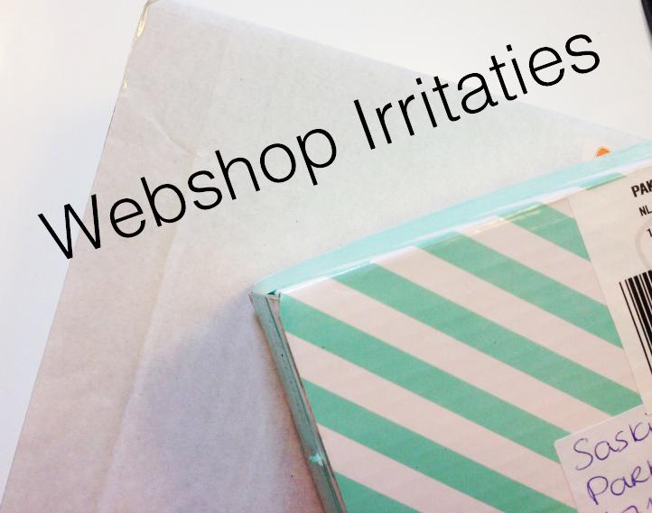 Webshop irritaties